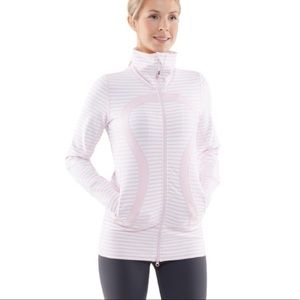 Lululemon In Stride Jacket in Heathered Pink Multi